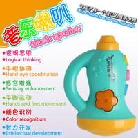 12 sing-along songs Smart baby toys lovely small dichromatic music speaker