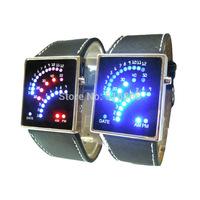 New 2014 Two Light LED Watch Digital Women Dress Watches Back Light Wristwatches Automatic Date