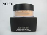 2014 hot sales M brand PA101 makeup loose powder,high quality cosmetics face powder free shipping