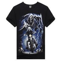 2014 Korean version of the new creative 3D Men's T- shirt wholesale men t-shirt Slim men's t -shirt factory,Free Shipping