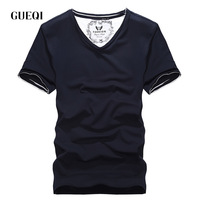 Daily limit purchase GUEQI flawless solid colors for men T shirt wholesale supply manufacturers wild short-sleeved men,Free Ship