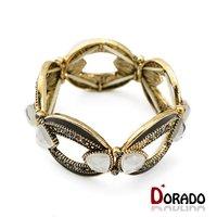 Bracelets Bangles for Women Top Selling Multilayer Rhinestone and Enamel Resin Statement Bracelets