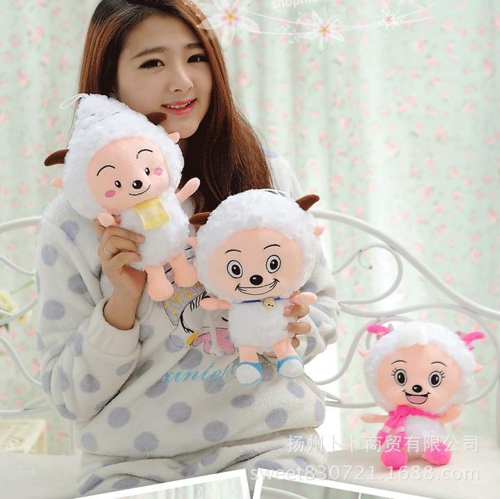 80cm Pleasant Goat Plush Toy Doll Children's Day Gift(China (Mainland))