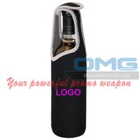Free Shipping! Custom Imprint Neoprene 1 One Single Wine Champagne Bottle Tote Cooler Bag,Sleeve,Holder,Insulator
