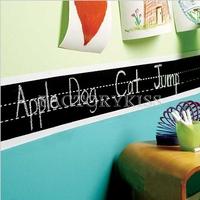 Free Shipping Hot Sales Removable Alphabet Handwriting Chalkboard Blackboard Wall Sticker Decal [3 4007-289]
