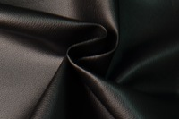 Thin Lychee Skin Black Leather Fabric For Home Decor Furniture Upholstery Application,Soft Black Leather Fabric 54'' Wide