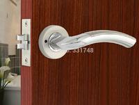 Simple Classical Interior Door Lock HD-6133 Bathroom Handle Lock For Kitchen/Shower Room
