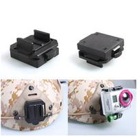 New hot sale helmet aluminum mount base for GoPro Hero 3 Hero 2,NVG mount base go pro acccessories selfie shooting outdoors