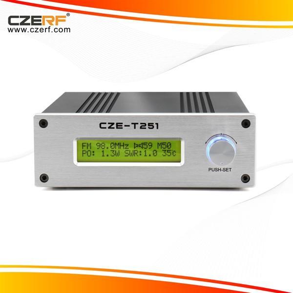 Free Shipping CZE-T251 25 Watts Broadcasting FM Transmitter(China (Mainland))