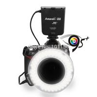Wholesale 20pcs/lot Aputure HN100 CRI 95+ Amaran Halo LED Ring Flash light  For Nikon LED Ring Light Free Shipping