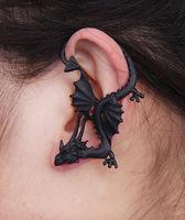 Mini Order $8.8(Mix Orders) Hot Selling Gothnic Vintage Flying Dragon Fashion Earring FE0161