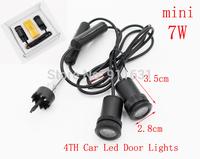 4th Gen 2PCS Car Logo Door Light  For Mazda LED Welcome Light Projector Lamp Bulb Car Logo Shadow Light 3.5cm(L) X 1.8cm(W)