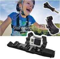 Adjustable hot sale children GoPro Hero 3+/3 chest belt J hook mount harness,outdoors action gopro accessories body chest strap