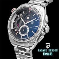 2014 New arrival Pagani Design CX-2492A Multi-function quartz watches men waterproof calendar Fashion casual sport wristwatch