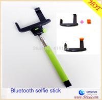 Bluetooth selfie pole for selfie photo with selfie shutter