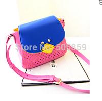 2014 new fashion trend of Korean version of the cartoon shoulder bag handbag essential travel wild hollow purse