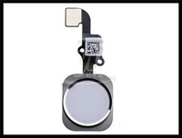 """Light Sensor free Shipping Home Button Menu Flex Cable+key Cap Assembly Replacement for Apple for Iphone 6 4.7"""" Repair Parts"""