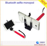 Extendable handheld camera wireless monopod,mini bluetooth monopod