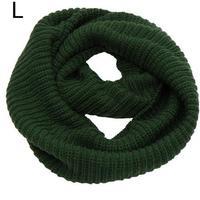 2014 Winter women yarn knit circle scarf neckwarmer infinity scarfs  .NL-2221