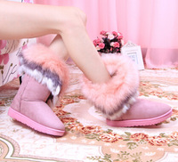 2014 hot selling high tassel fur boots women's shoes to keep warm high-grade women boots xxx267