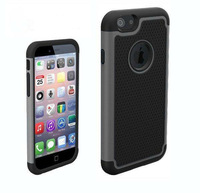 Silicone+ hard pc football line case for iphone 6 plus armour case back cover for iphone 6 plus 5.5 inch Free shipping