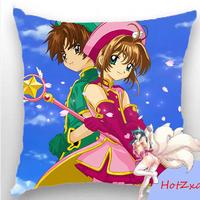 45X45 18INCH peach skin Anime Dakimakura pillow case - Cardcaptor Sakura ~ Chiharu Mihara MKSNY-014