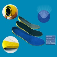 7-12 Freedom  Yardage Fit All Men's Sport Insoles Good For Absorb Sweat Deodorant Breathable Cushioning Comfort Insoles  P136