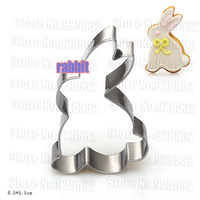 New Rabbits Cookie Cutter metal , Biscuit mold, styling tools 2pcs/lot Free shipping
