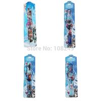 10pcs/lot Frozen Elsa Anna Children Digital Watch Cute Rubber Cartoon Kids Frozen Slap Watch Party and Christmas Gift or Present