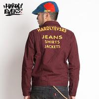 HardlyEvers original design Harajuku retro influx of male long-sleeved denim jacket