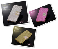 Luxury Leather Flip Case for 5 inch WIKO RAINBOW Phone