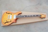Classic PR  Empty heart F hole Empty hear customshop pale yellow  Electric Guitar