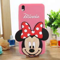 50 Pieces For HTC Desire 816 D816w Lovely Cartoon Animal Silicone Cover Different Fashion Case With Screen Protector( HTC032)