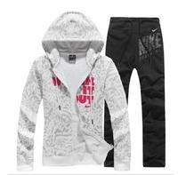p$good quality~New 2014 Winter Autumn cardigan Fashion sport suit women hoody Ladies sweatshirt Hoodies+Pants tracksuits
