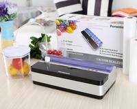 2014 New High end Food Vacuum Sealer Kits/Food Preservation System,Black/Green/Red, Free bag 2Rolls
