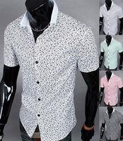 Men Shirt Fashion New Arrivals Premium Designed Slim Fit Stylish Short Sleeve Mens Shirts
