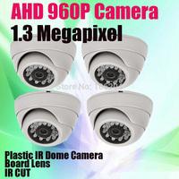 960P 1280*960 High Resolution Analog Camera 1.0 MP HD AHD Board Lens IR night vision Dome CCTV Camera