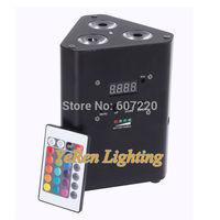 4 x Battery Powered LED Truss Light ,RGBW Quad color 4in1 Color  Dj Wash Light,DJ Lights