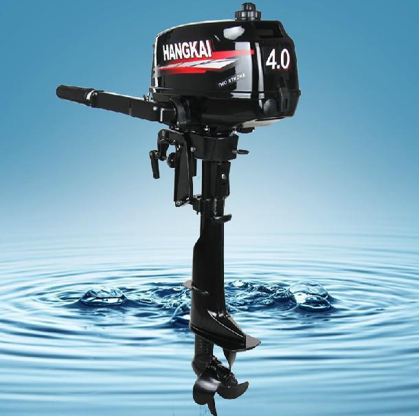 O preço mais competitivo 4.0HP Hangkai 4.9KW 2 tempos motor de popa motores de barco para as vendas inteiras refrigerado a água(China (Mainland))