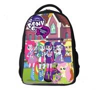 Brand New High Quality Schoolbag My Little Pony School Bags Mochila Infantil School Backpack Cartoon Bag Bolsas