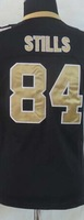 New Orleans #84 Kenny Stills white black Women's American football jersey,Embroidery logo,size S-XXL
