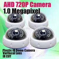 1/4'' CMOS Sensor IR CUT Day night vision Manual Zoom Lens 1280*720P AHD HD Indoor Dome Security Camera