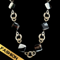 Special Autumn New Arrival Necklaces Fashion Original Natural Agate Sweater Chain Free Shipping Gifts For Girl Women XL14A091601