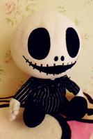 The Nightmare Before Christmas Jack Plush Doll PP Cotton Large 35cm Christmas Halloween Birthday Gift Children's Toys