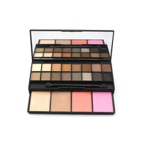 New Proffesional Makeup Set 16 Colors Eyeshadow With 4 Colors Blusher Combo Make Up Palette Comestics For Beauty Care Maquiagem