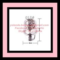 Free Shipping Nail Accessory 10 Pcs/Lot Alloy Nail Beauty Rhinestone Nail Art Supplier Mobile Decor Wholesale Retail NNA-020