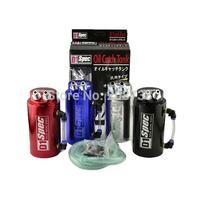 10PCS/LOT Universal Car Accessories D1 SPEC Racing Oil Catch Aluminum Tank Can