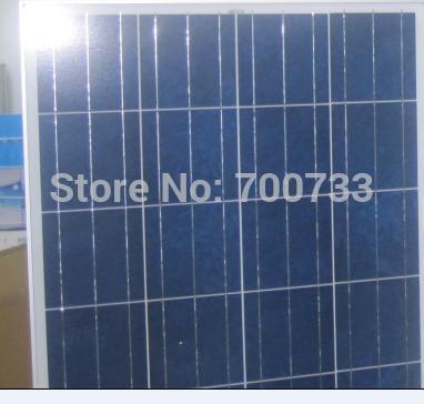 80W 12V polycrystalline solar panels x 2pcs.160watt 12volt poly solar module /freeshipping(China (Mainland))