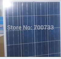 80W 12V polycrystalline solar panels x 2pcs.160watt 12volt poly solar module /freeshipping
