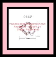 Free Shipping Nail Accessory 10 Pcs/Lot Alloy Nail Beauty Rhinestone Nail Art Supplier Mobile Decor Wholesale Retail NNA-019